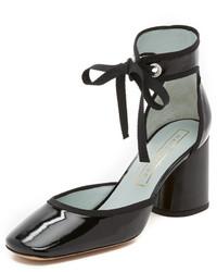 Marc Jacobs Elle Ankle Strap Pumps