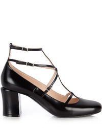 Fendi Mary Jane Leather Pumps