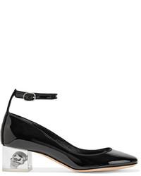 Alexander McQueen Patent Leather Pumps Black