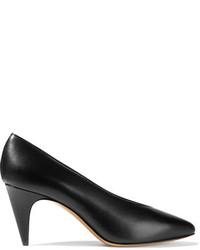 Isabel Marant Peas Leather Pumps Black