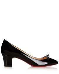 Christian Louboutin Pyramidame 45mm Patent Leather Pumps
