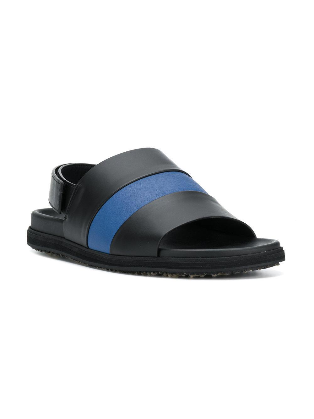 de340c1bdcc4 ... Marni Block Stripe Sandals ...