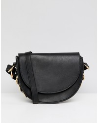 ASOS DESIGN Saddle Bag With Ring Side Detail