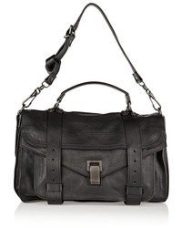 Proenza Schouler The Ps1 Medium Leather Satchel Black