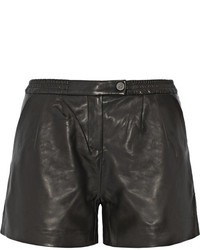 Karl Lagerfeld Eden Mid Rise Leather Shorts