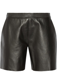 Neil Barrett Leather Shorts