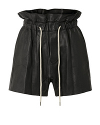 Bassike Leather Shorts