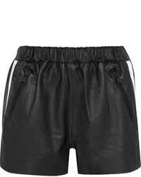 Acne Studios Maia Leather Shorts