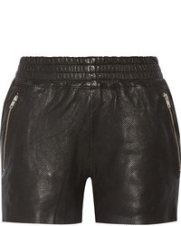 OAK Rider Perforated Leather Shorts