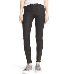 Rag & Bone Jean Ryder Coated Crop Skinny Jeans