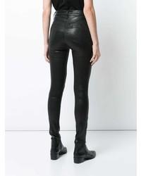 Rag & Bone Leather Jeans