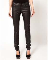 Tripp Nyc Leather Look Skinnies