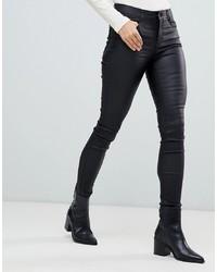 Vila Skinny Jean In Black
