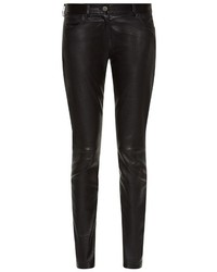 Balenciaga 5 Pocket Stretch Leather Trousers