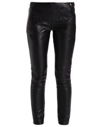 Leather trousers black medium 3904622
