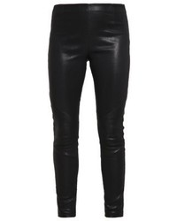 Nori leather trousers black medium 3904153