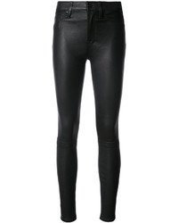 Hudson Skinny Leather Trousers