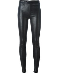 Helmut Lang Skinny Leather Trousers