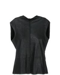 Fitted sleeveless blouse medium 7736394