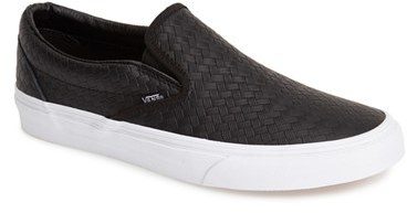 ce0a85839e Vans Classic Leather Slip On Sneaker