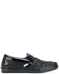 Jimmy Choo Grove Slip On Sneakers
