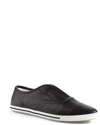 Marc by Marc Jacobs Lambskin Leather Slip On Sneaker