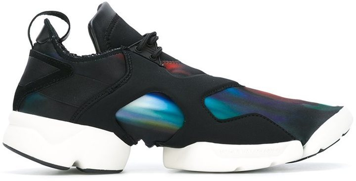 ec9dca195 Kohna Trainers. Black Leather Sneakers by Y-3