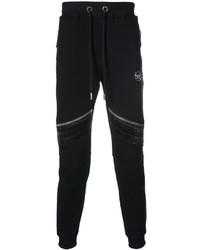 Leather zippers sweatpants medium 4423903