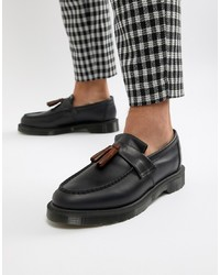 Dr. Martens Adrian Tassel Loafers In Navy