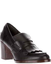 Avril Gau Chunky Heel Loafer