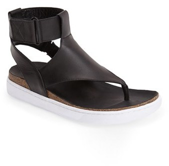 ... Black Leather Thong Sandals ATELJE 71 Ateljé 71  Ajax  Leather Thong  Sandal (Women) 6adf39ce6