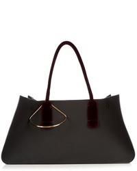Roksanda Louise Contrast Handle Leather Tote
