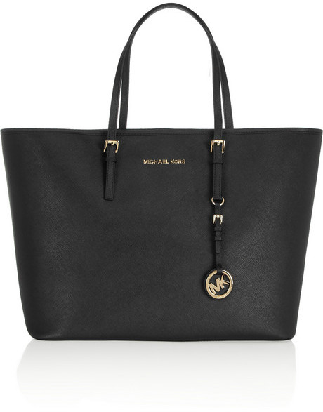 10a1f5623e ... jet set travel saffiano yellow leather totemichael kors bags  outletmichael kors cheapamazing selection sale black leather tote bags  michael michael kors ...