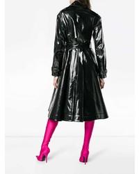 Calvin Klein 205W39nyc Vinyl Trench Coat