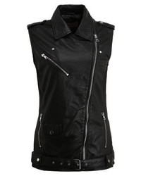 Fresno waistcoat black medium 5365381