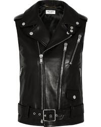Saint Laurent Leather Vest