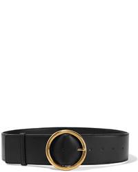 Stella McCartney Faux Leather Waist Belt Black
