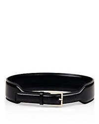 Hugo Boss Tia Smooth Leather Waist Belt