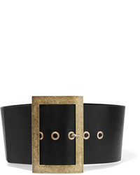Philosophy Di Lorenzo Serafini Textured Leather Waist Belt Black