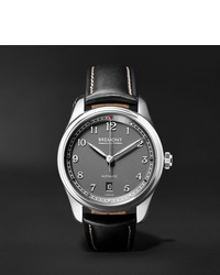 Bremont Airco Mach 2 40mm Stainless Steel And Leather Watch