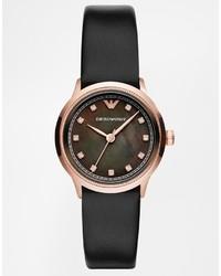 Emporio Armani Alpha Black Watch Ar1802 Ar1803