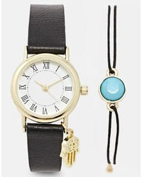 Asos Collection Boho Watch Bracelet Pack