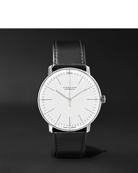 Junghans Max Bill Automatic 38mm Stainless Steel And Leather Watch Ref No 027350100