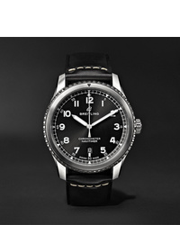 Breitling Navitimer 8 Automatic 41mm Steel And Leather Watch Ref No A17314101b1x1