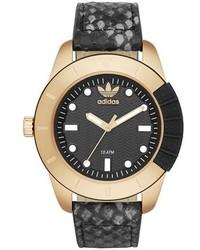 adidas Originals Adh 1969 Leather Strap Watch 41mm