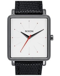 Nixon The K Squared Leather Strap Watch 32mm X 30mm