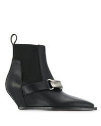 Rick Owens Buckle Boots