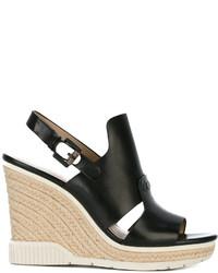 CK Calvin Klein Ck Jeans Cog Wedge Sandals