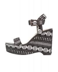 Melody platform sandals black medium 4060188
