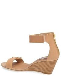 2e3fa21b5e5 £66, Steve Madden Narissaa Ankle Strap Wedge Sandal